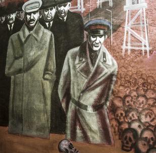 Obraz Represje stalinowskie autorstwa Igora Obrosowa