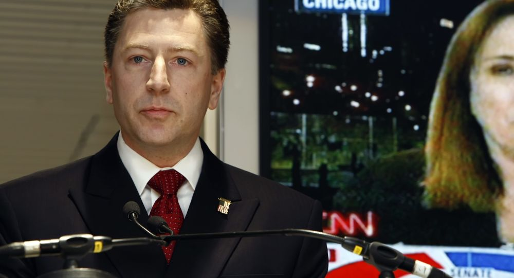 Specjalny wysłannik USA na Ukrainie Kurt Volker