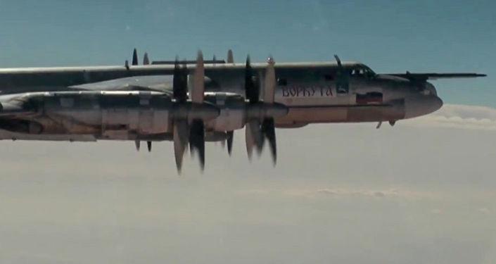 Atak pociskami manewrującymi w obiekty terrorystów w Syrii z udziałem samolotów Tu-95MS