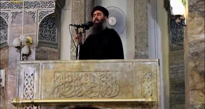 Domniemany przywódca zakazanej w Rosji organizacji terrorystycznej Daesh Abu Bakr al-Baghdadi