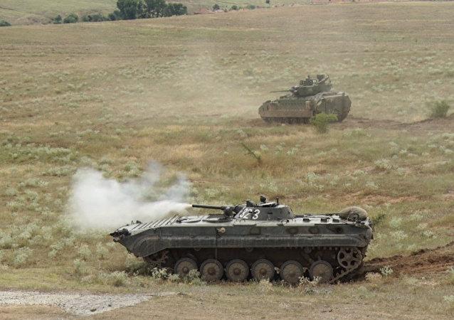 W obozie wojskowym Nowo Seło w Bułgarii  odbyły się ćwiczenia NATO Peace Sentinel