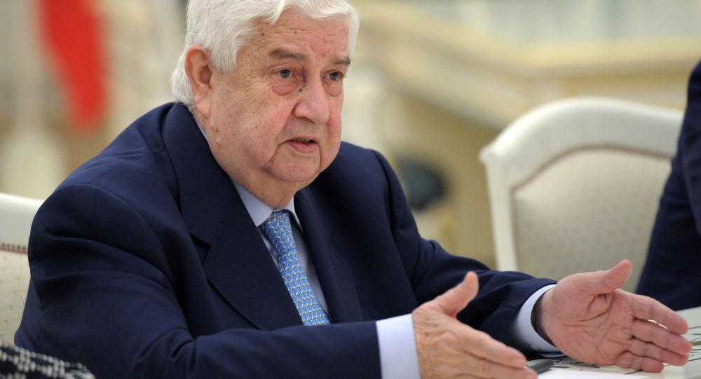 Szef MSZ Syrii Walid al-Mu'allim