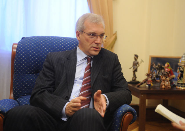 Stały przedstawiciel Rosji przy organizacji Aleksander Gruszko