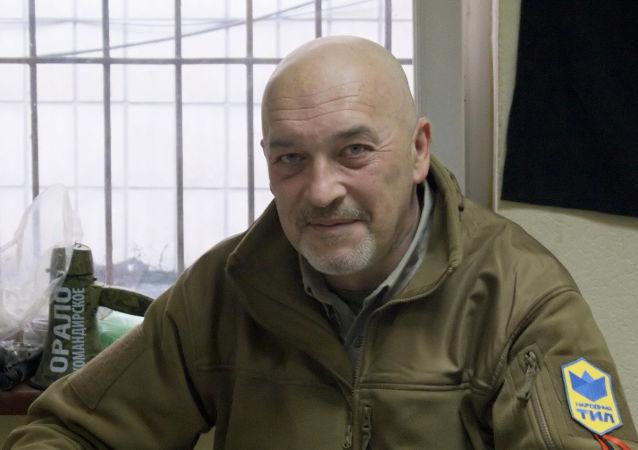 Kierownik i założyciel grupy ochotniczej Tył Ludowy Georgij Tuka