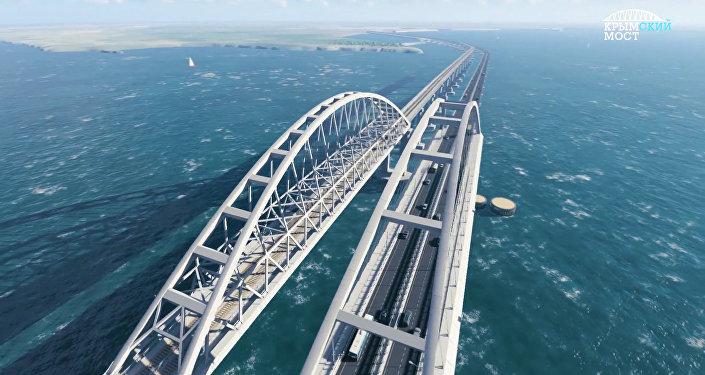 Model 3D Mostu Krymskiego