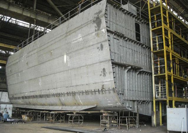 Budowa ukraińskiej korwety projektu 58250