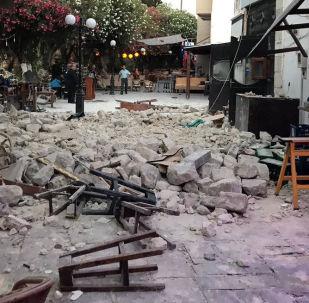 Trzęsienie ziemi na greckiej wyspie Kos