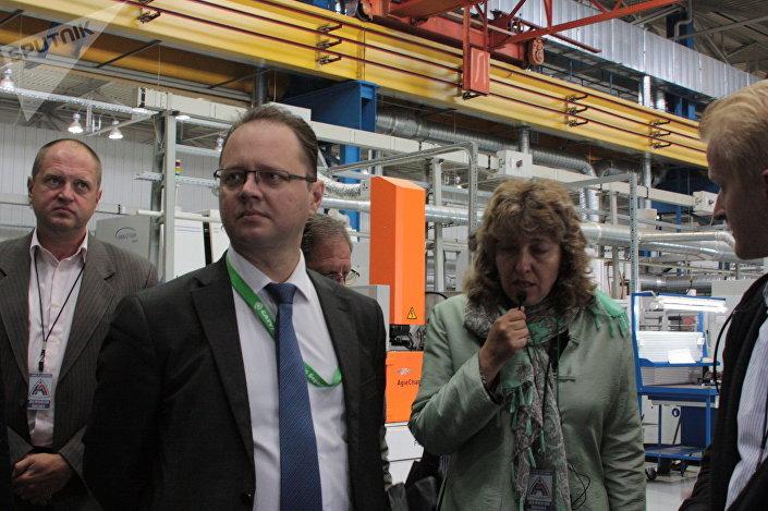 Władimir Stogow, dyrektor produkcji zakładów Saturn