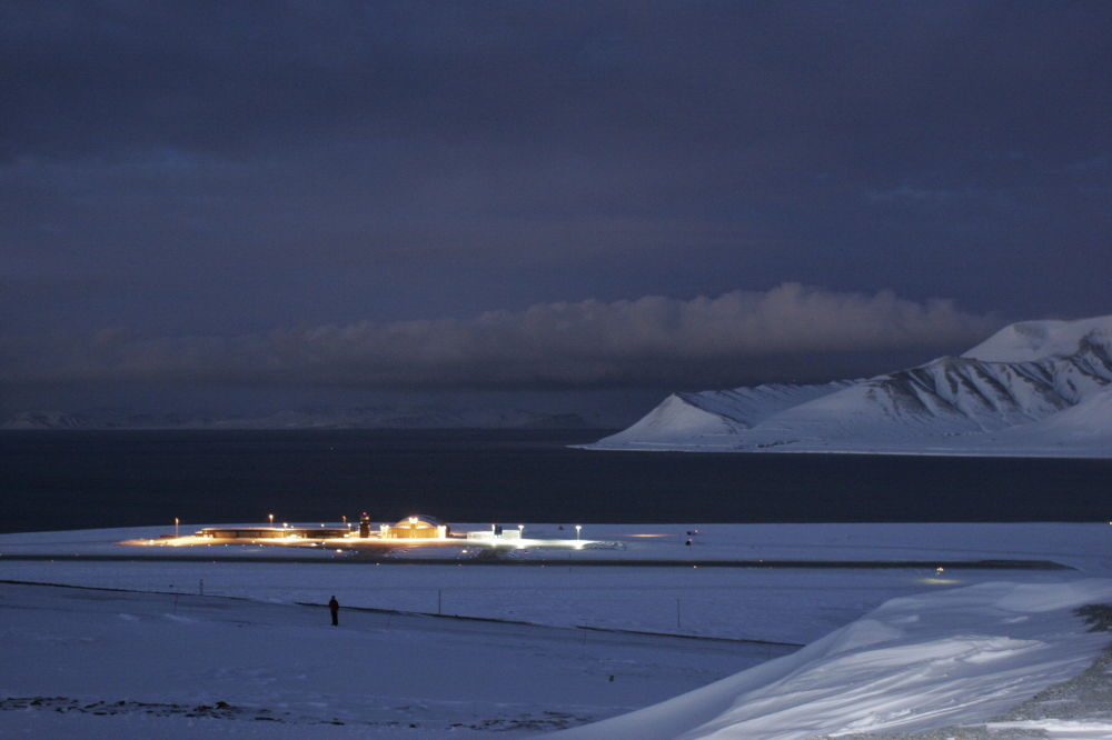 Port lotniczy Svalbard, Norwegia
