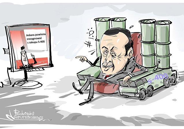 Ankara powinna zrezygnować z zakupu S-400
