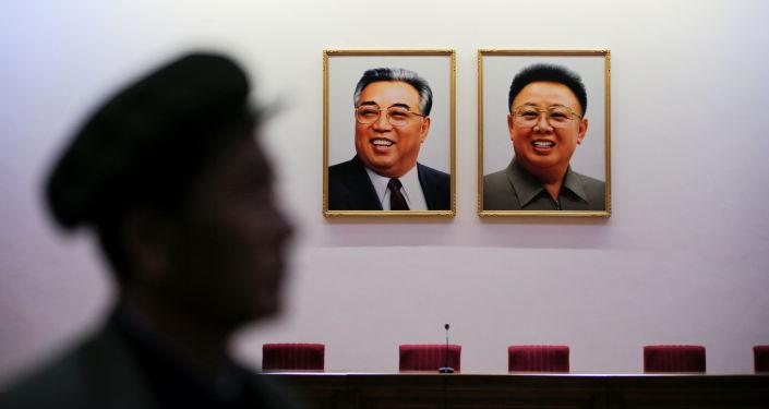 Portrety północnokoreańskich liderów