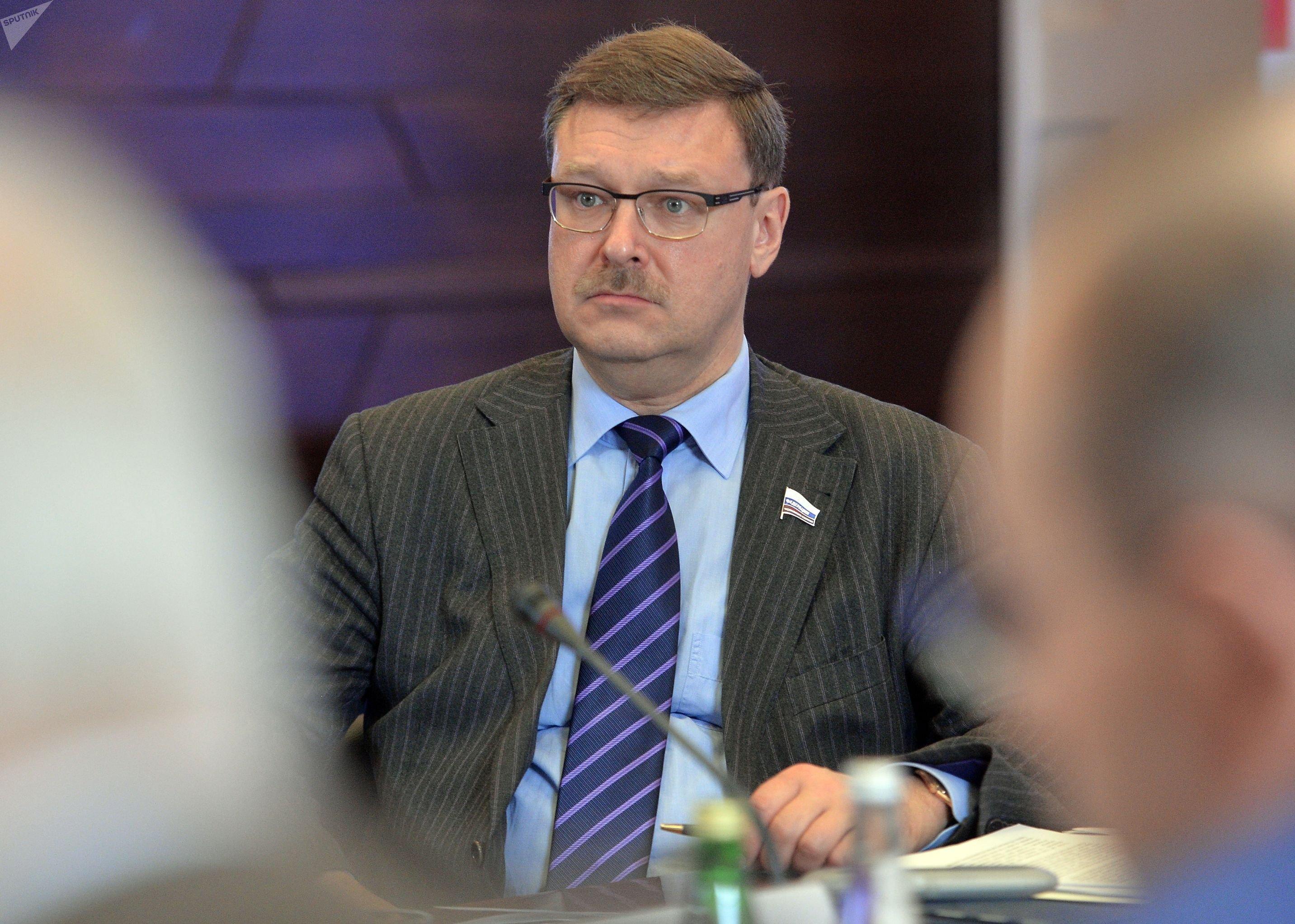 Przewodniczący Komitetu ds. Międzynarodowych Rady Federacji Konstantin Kosaczow