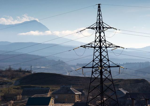 Krymskie władze poinformowały o przerwaniu dostaw energii elektrycznej na półwysep