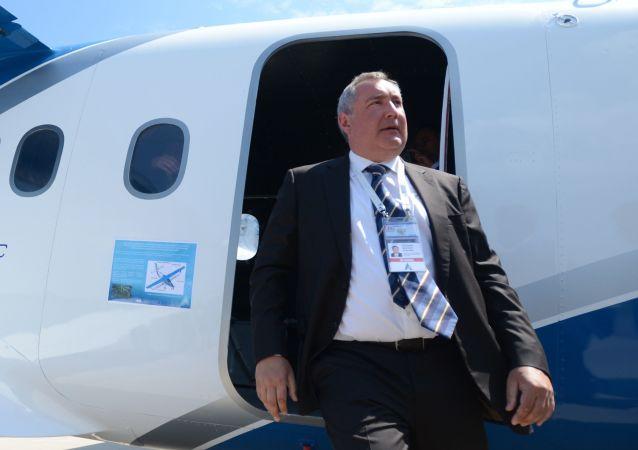 Dmitrij Rogozin. Zdjęcie archiwalne