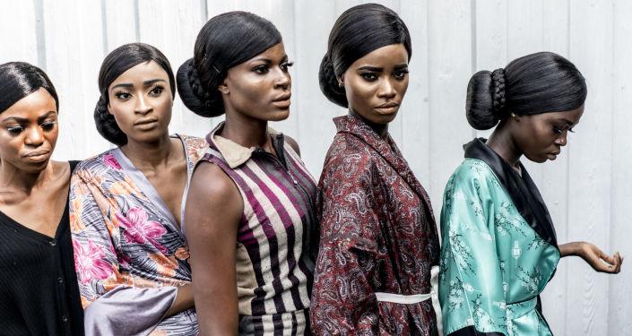 Afrykańskie modelki