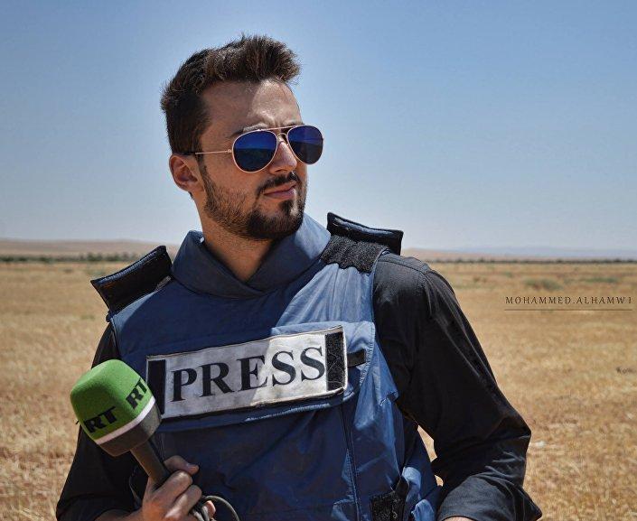 Korespondent RT Khaled G. AlKhateb