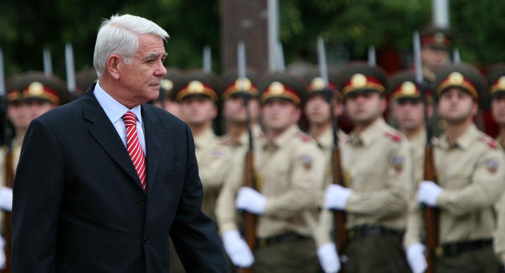 Minister spraw zagranicznych Rumunii Teodors Meleškanu