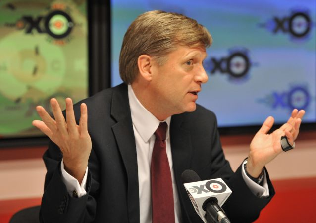 Michael McFaul, były ambasador USA w Rosji