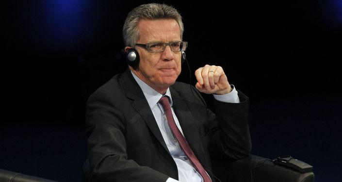Minister spraw zagranicznych Niemiec Thomas de Maizière