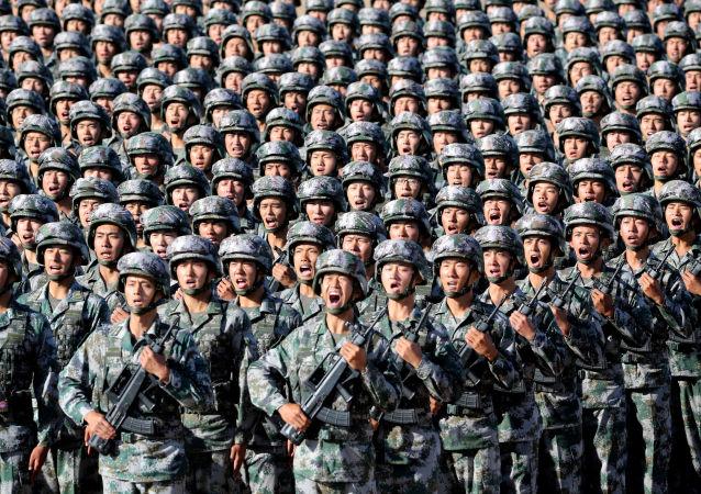 Parada wojskowa z okazji 90. rocznicy utworzenia Chińskiej Armii Ludowo-Wyzwoleńczej