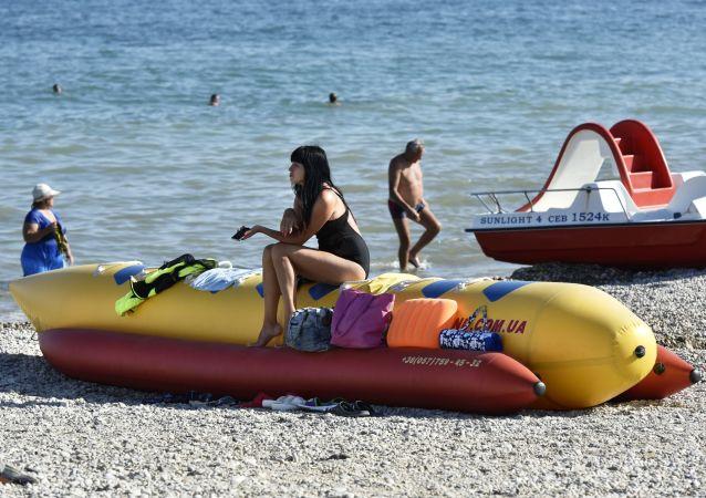 Plaża Koktebel, Morze Czarne