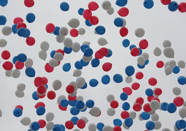 Baloniki w niebie