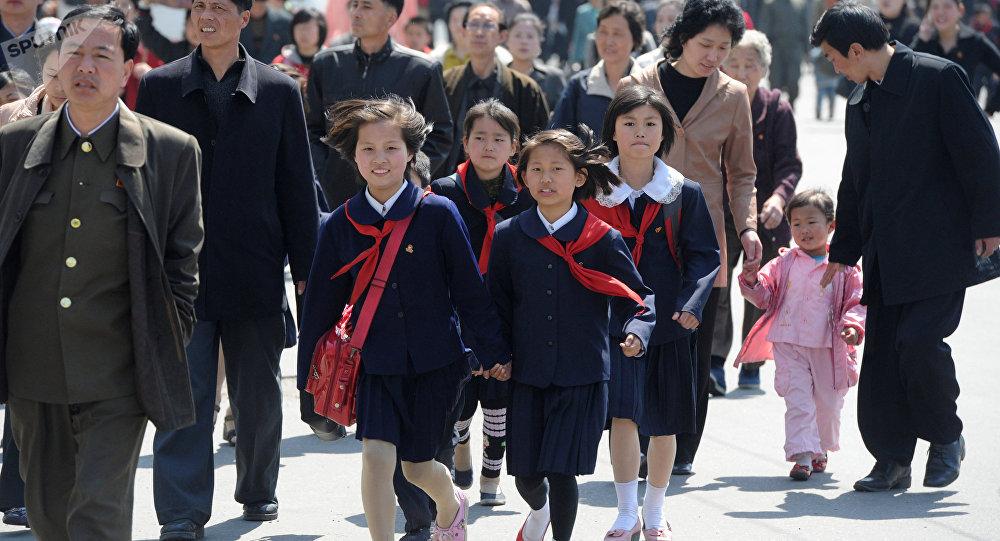 Mieszkańcy Pyongyangu