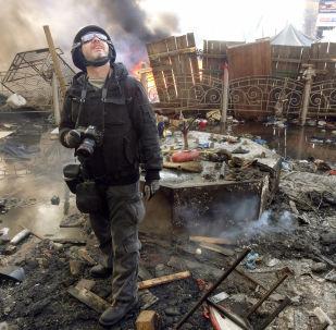 Andriej Stenin w Kijowie