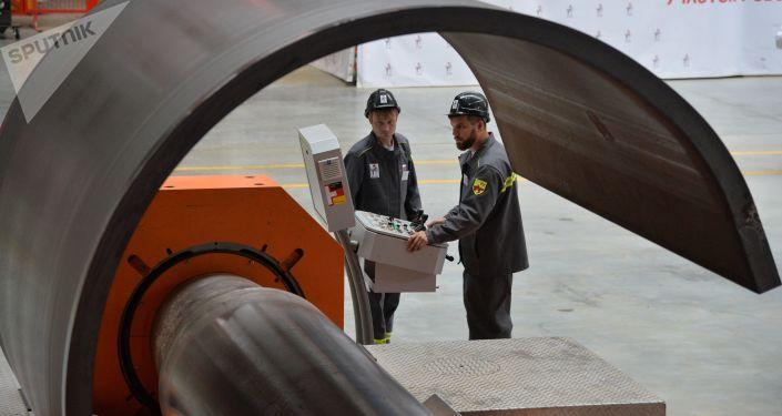 Przygotowanie do uruchomienia zakładu spółki Eterno w obwodzie czelabińskim