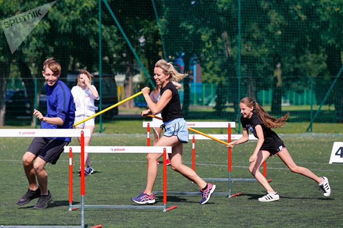 Turniej rodzinny na Letnich Igrzyskach Polonijnych