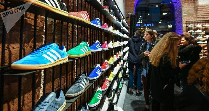 Sklep Adidas w Moskwie