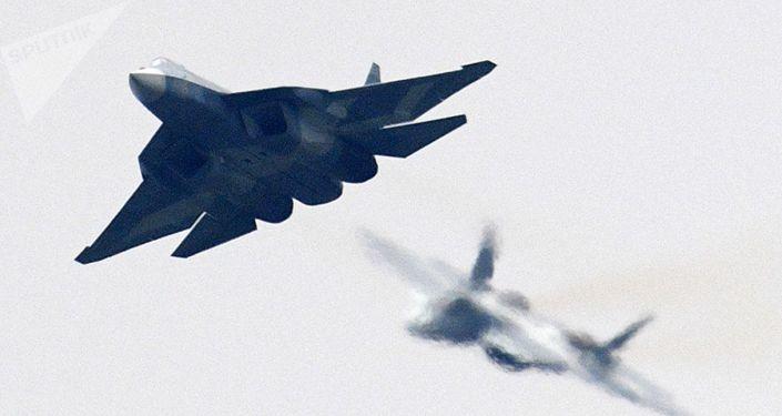 Rosyjski myśliwiec piątej generacji T-50