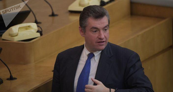 Szef Komisji Spraw Zagranicznych Dumy Państwowej Leonid Słucki