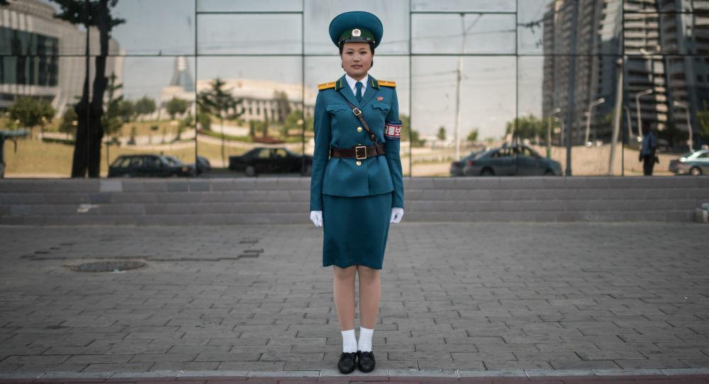 Oficer służby drogowej, Pjongjang