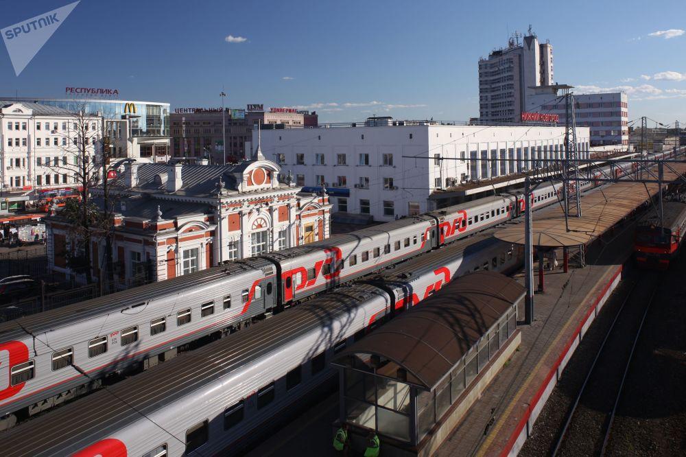 Dworzec kolejowy w Niżnym Nowogrodzie