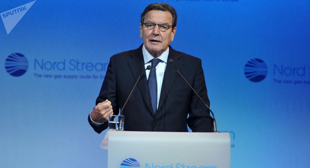 Przewodniczący Komitetu Akcjonariuszy Nord Stream AG Gerhard Schröder