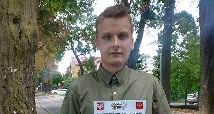 Jeden z czołowych aktywistów Braterstwa Polsko-Rosyjskiego Radosław Opoczka