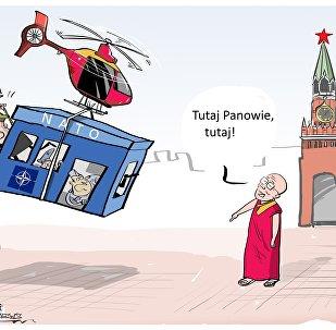 Dalajlama proponuje przeniesienie siedziby NATO do Moskwy