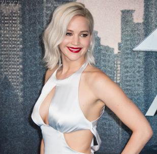 Aktorka Jennifer Lawrence