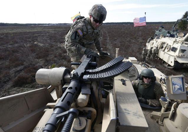 Żołnierze armii USA na szkoleniach na Litwie