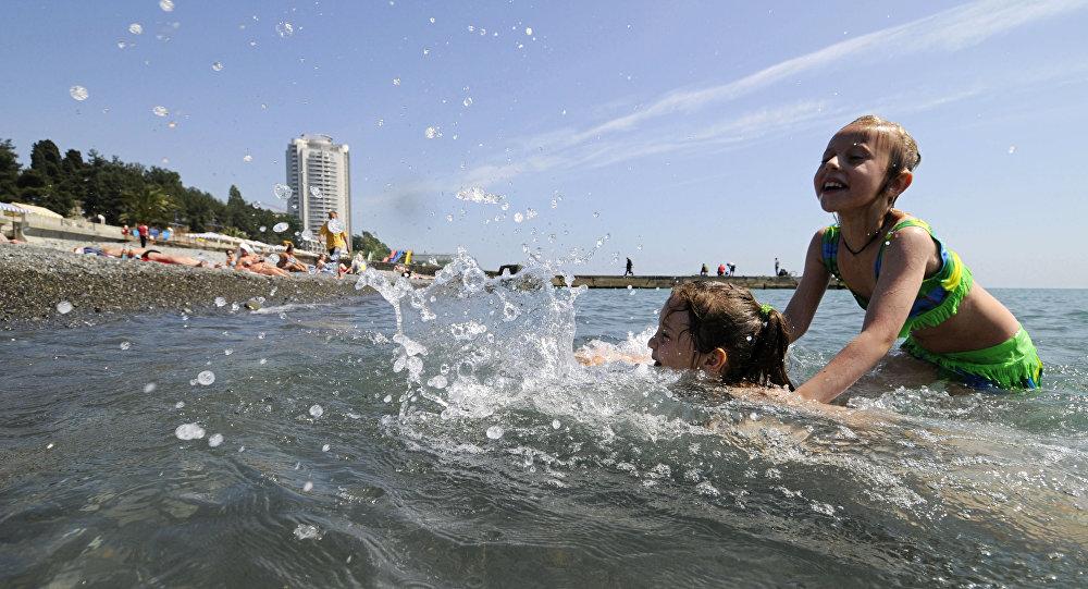 Plaża w Soczi