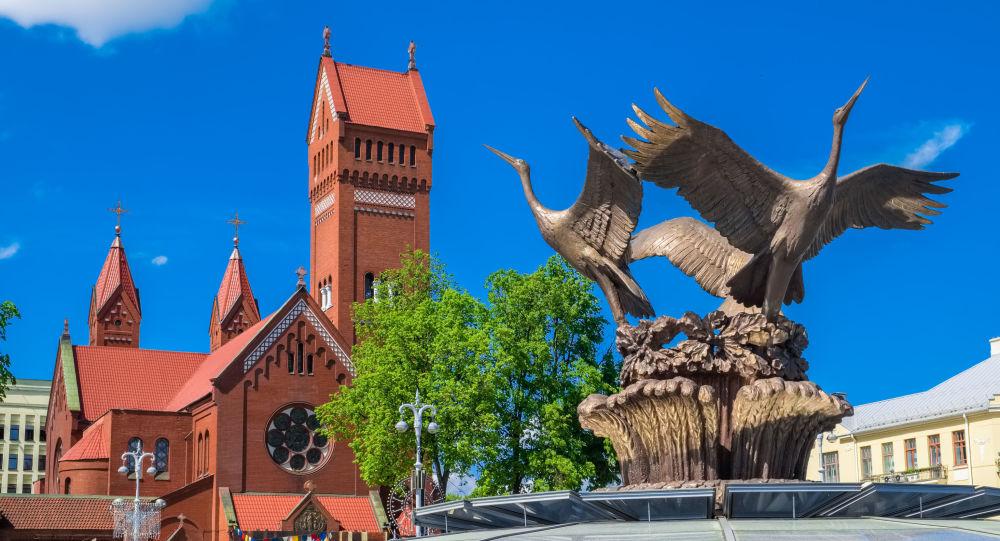 Plac Niezależności w Mińsku