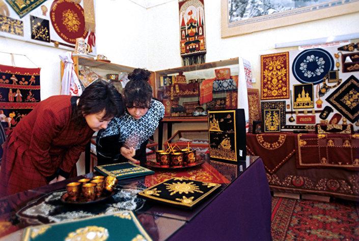 Jedno z muzeów w Torżoku poświęconych złotym haftom.