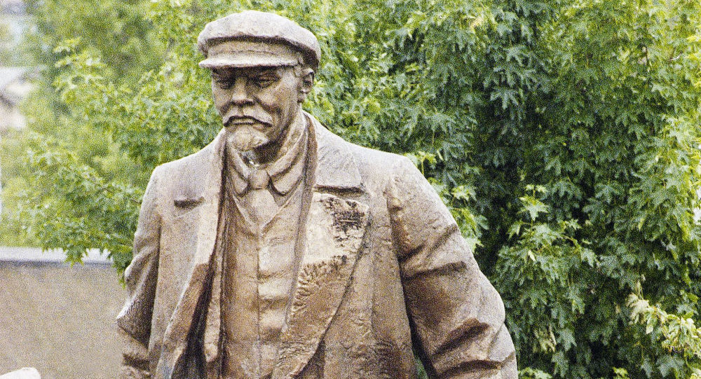 Pomnik Władimira Lenina w amerykańskim Seattle