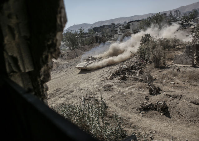 Walki w rejonie Dżobar