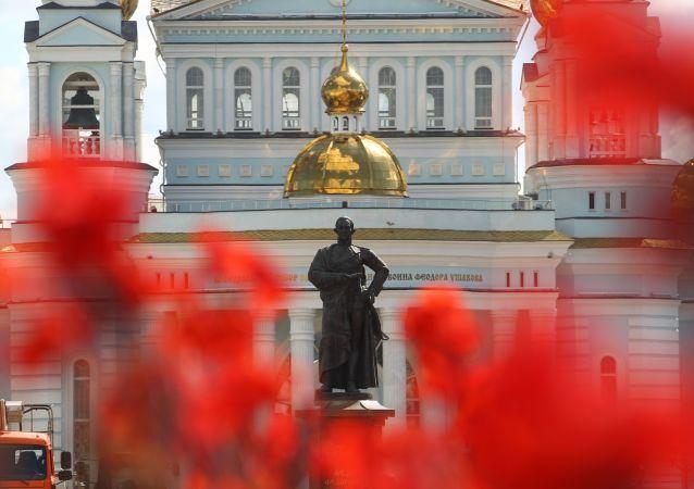 Katedra św. Teodora Uszakowa w Sarańsku.