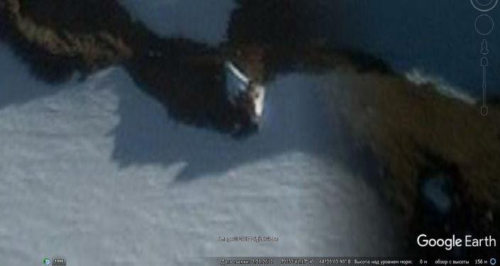 Zdjęcie UFO w Antarktydzie