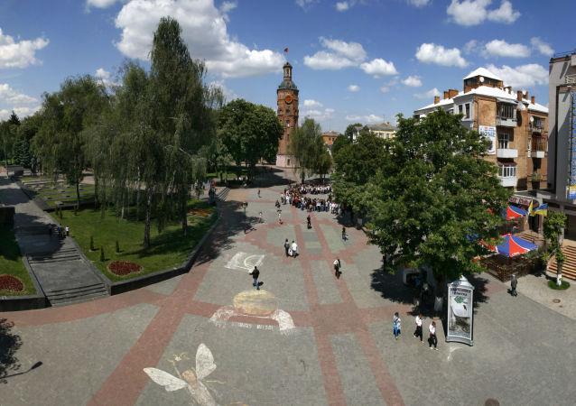 Plac Europejski w Winnicy, Ukraina