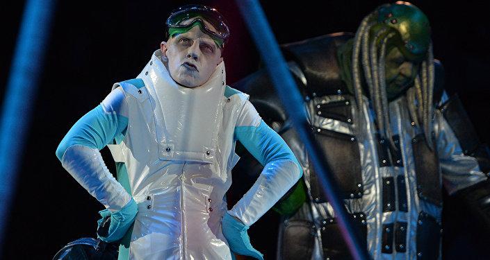 Show UFO w moskiewskim cyrku