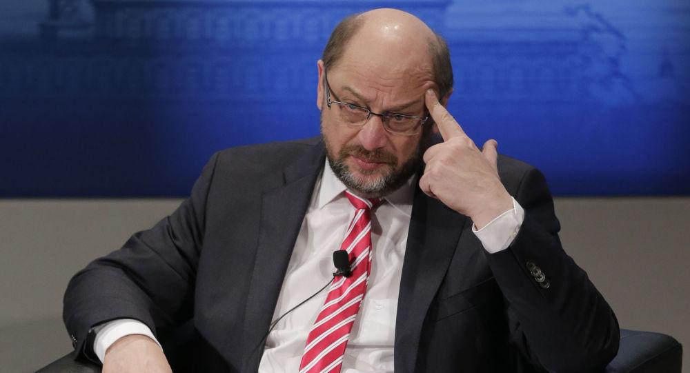 Kandydat SPD na kanclerza Niemiec Martin Schulz